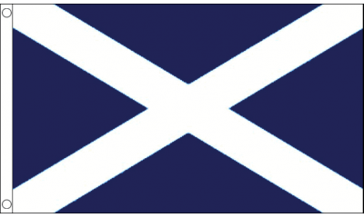 St Andrews (Navy Blue) Small Flag