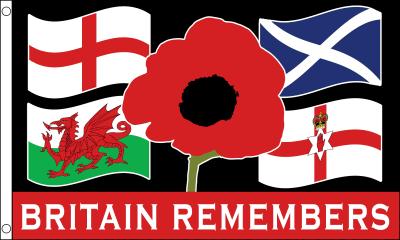 Britain Remembers Flag