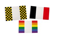 Coloured Panel Flags