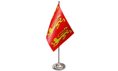 King Richard 1st Satin Table Flag