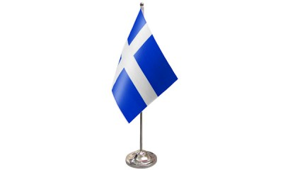 Shetlands Satin Table Flag