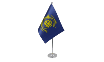 Commonwealth (New) Satin Table Flag