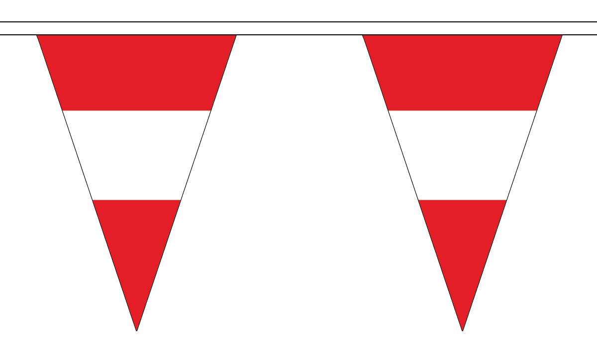 Austria Triangle Bunting