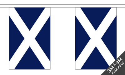 St Andrews (Navy Blue) Small Bunting