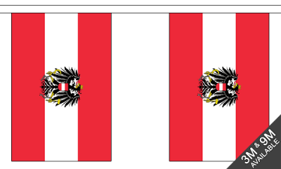 Austria Crest Small Bunting