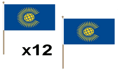 Commonwealth (New) Hand Flags