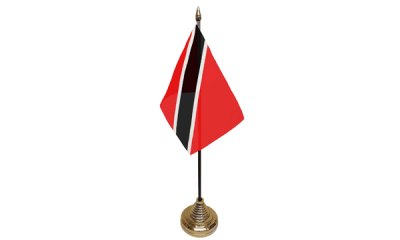 Trinidad and Tobago Table Flags